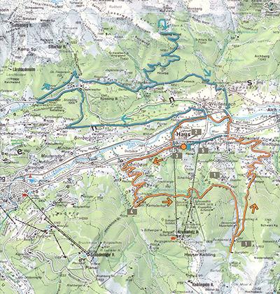 Unter Heukuppe und Schneealpe - Mountainbike - Tour Steiermark